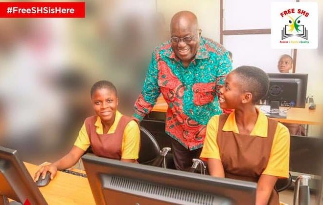 Ghana makes secondary school education free