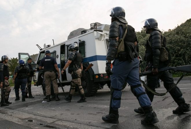 Gunning for the poor: South Africa's brutal policing
