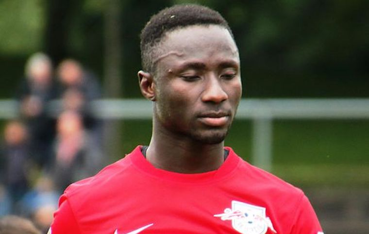 Naby Keita in RB_Leipzig_vs._FC_Liefering Testspiel Photo Credit Wikicommons