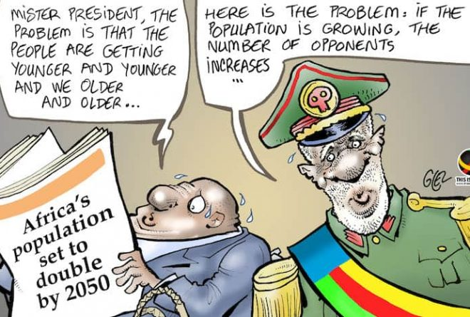 Young Continent, Old Leaders