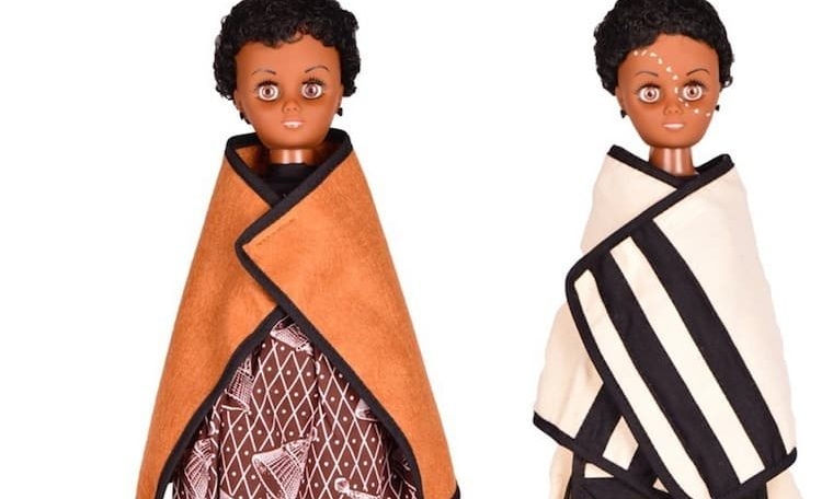 Ntom'benhle dolls represent diverse South African cultures
