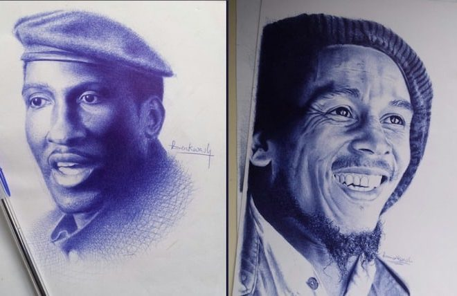 #DrawingWhileBlack: A celebration of black artists by Ghanaian illustrator Annabelle Hayford