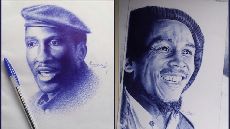 #DrawingWhileBlack: A celebration of black artists by Ghanaian illustrator Annabelle Hayford