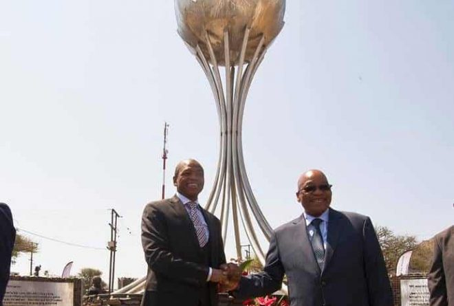 South Africa: Jacob Zuma's monument erected in his honour divides opinion