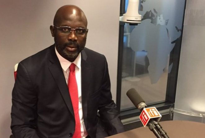 George Weah to honour Arsène Wenger with Liberia's highest award
