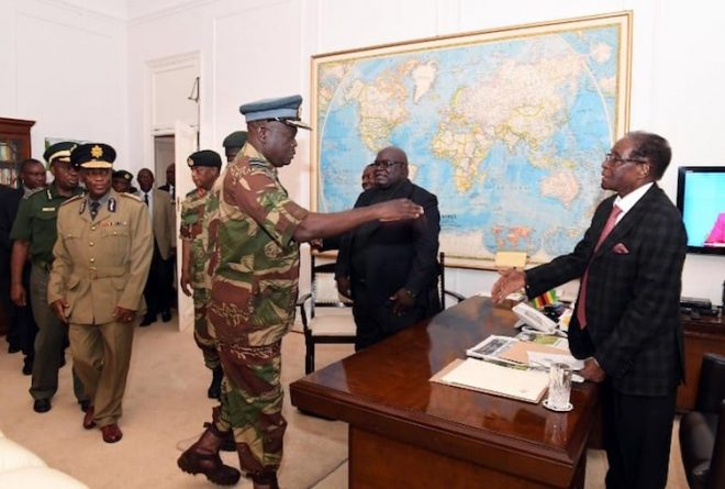 Mugabe relieved to have resigned: Jesuit mediator
