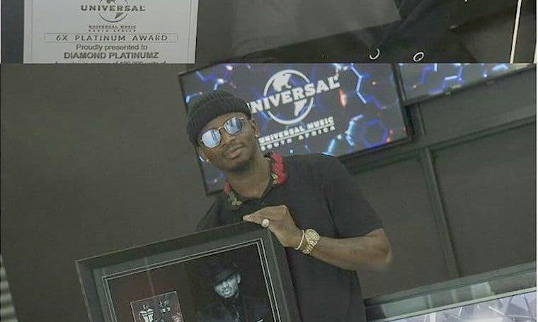Diamond Platnumz becomes first African under UMG to get 6x Platinum Sales