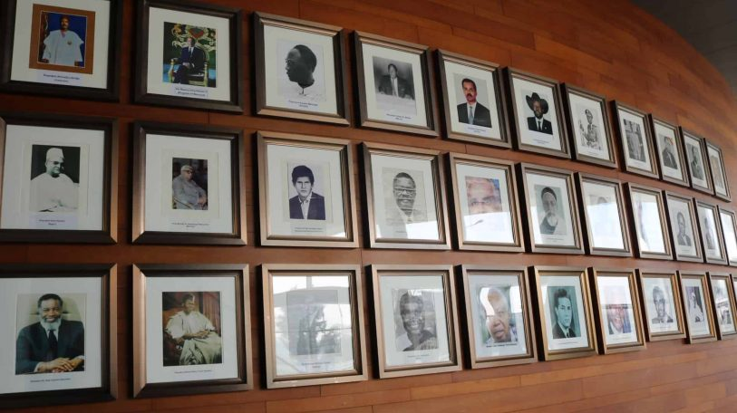 Inside the Africa Union: The Founding Fathers of the Organisation of Africa Unity- in pictures