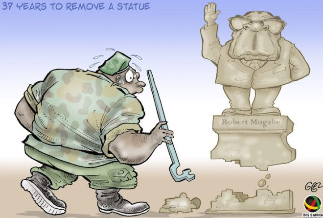 Cartoon: Zimbabwe's coup d'état that never was?