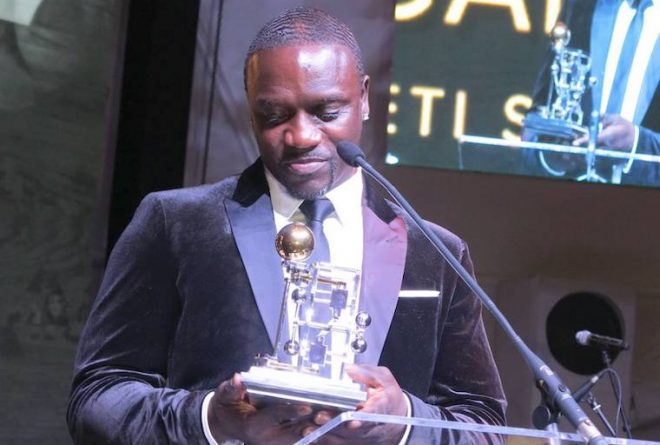Akon Lighting Initiative receives award at the Global Citizen Forum