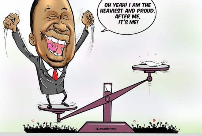 Cartoon: Kenya faces further political uncertainty with possibility of lengthy legal battle