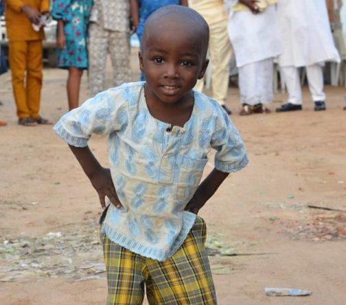 Nigeria: Meet Oluwatobiloba, three year old photobomber of the year