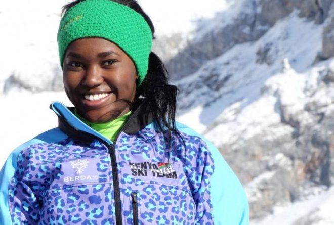 Meet 19 year-old Sabrina Wanjiku Simader, Kenya's first female athlete at the Winter Olympics