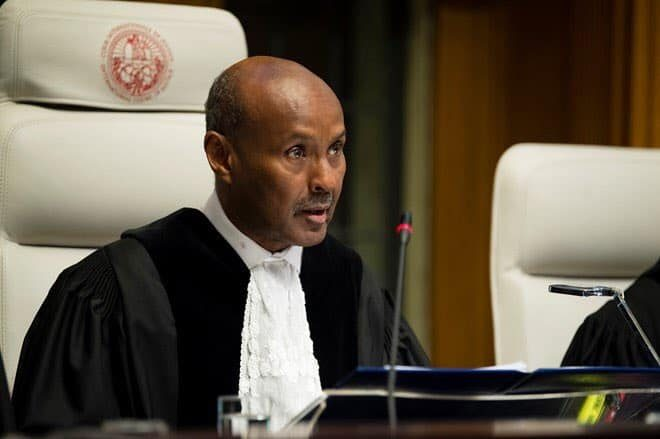 Judge Ahmed Yusuf from Somalia elected President of the International Court of Justice