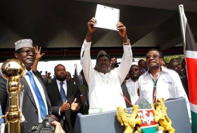 Two 'presidents'? No problem! Raila continues Kenya's political saga