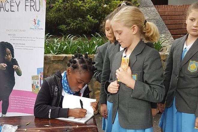Meet 11 year old Stacey Fru, Africa's youngest award winning author