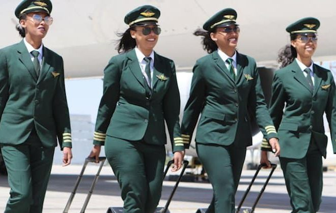 All-female crew operate Ethiopian Airlines' inaugural Buenos Aires flight