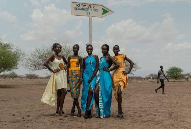 Ajuma Nasenyana brings the runway to Kakuma