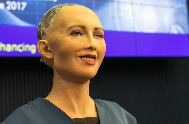 Sophia the Robot is coming to Africa