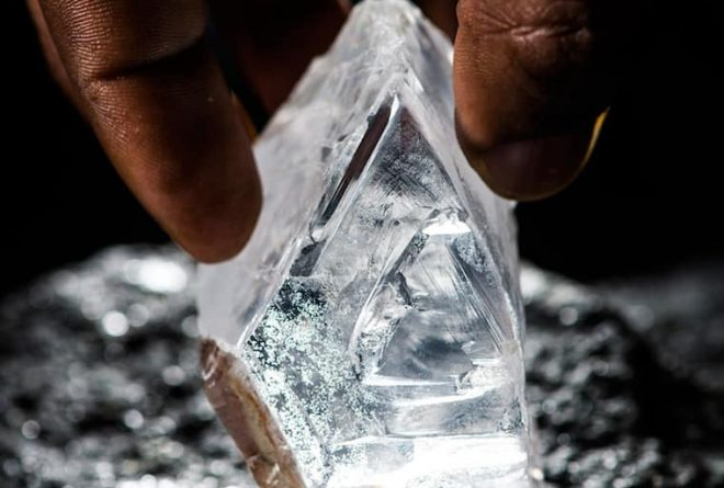 327-carat diamond found by Lucara from Karowe mine in Botswana
