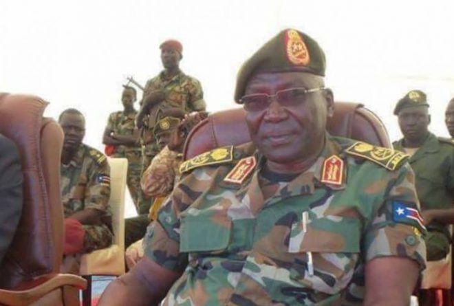 South Sudan's ousted army chief Paul Malong declares himself a rebel