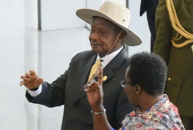 "President Museveni: ""Head of the home never goes into the kitchen."""