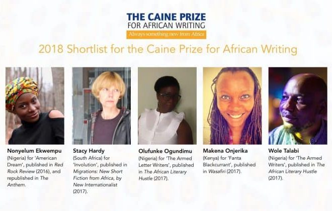 The Caine Prize for African Writing releases 2018 shortlist