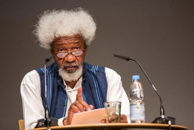 Prof Wole Soyinka urges Nigeria's anti-corruption body to arrest corrupt leaders