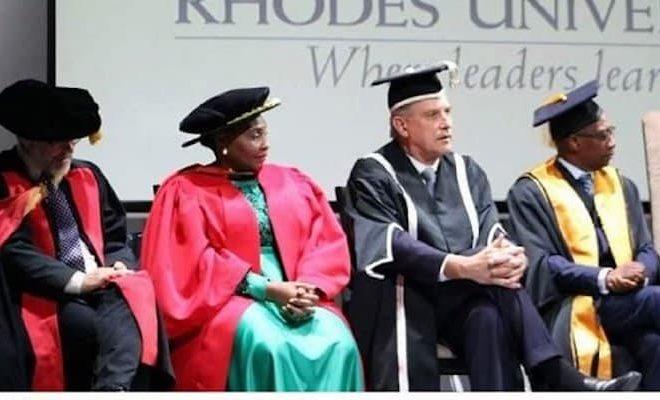 Rhodes University honours Dikgang Moseneke and Yvonne Chaka-Chaka