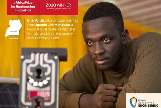 Ugandan medical solution wins the Africa Prize for Engineering Innovation