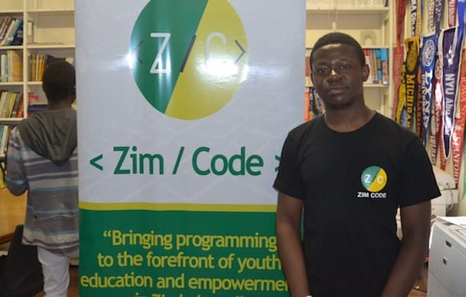 Zimbabwean techpreneur Alvin Chitena: Youth empowerment through coding