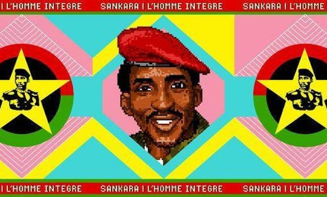 Pierre-Christophe Gam: Paying homage to Thomas Sankara through art