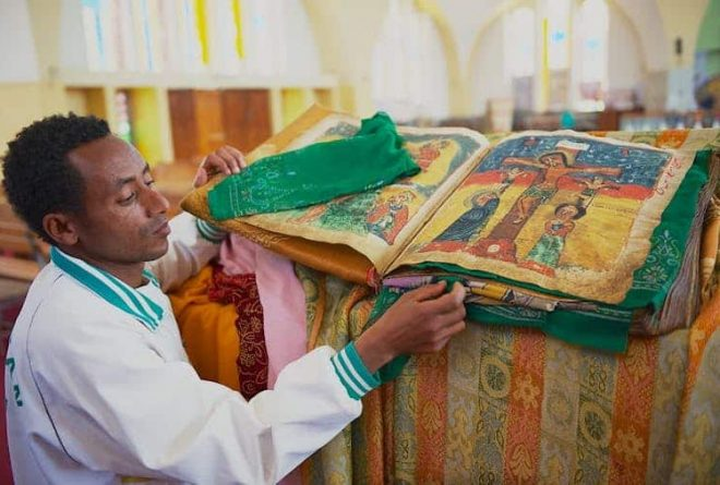 Reflections on Ethiopia's stolen treasures on display in a London museum