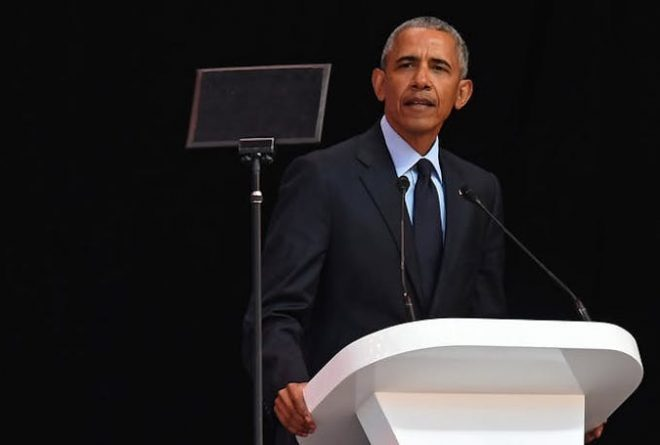 Obama pays tribute to Mandela: and invites the world to find its better angels