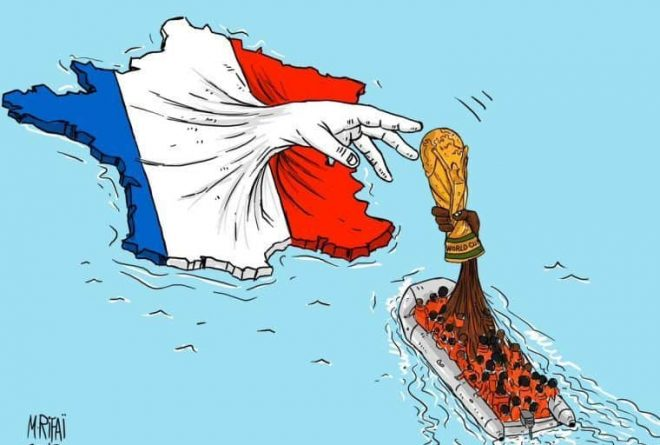 Whose World Cup victory is it anyway, Africa or France?