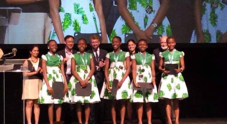 Nigerian teenage girls dominate the world in Technovation World Pitch Summit
