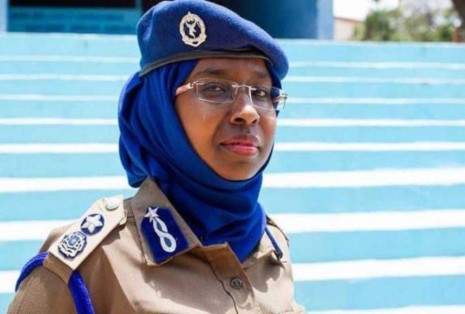 Zakia Hussein Ahmed, Somalia's first female Brig. General in the Somali Police Force