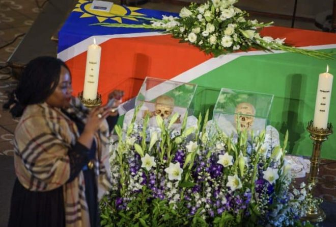 Germany returns human remains from Namibian genocide