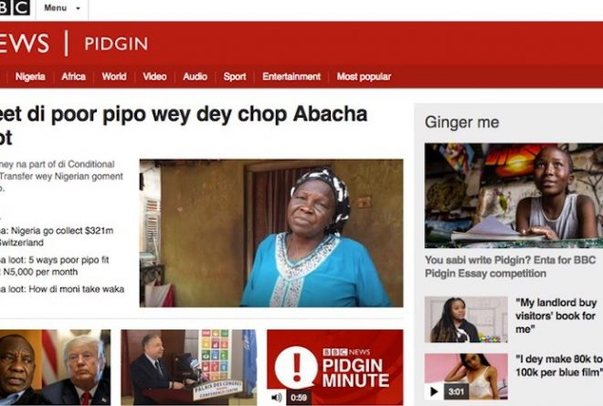 Why West Africa's pidgins deserve full recognition as official languages