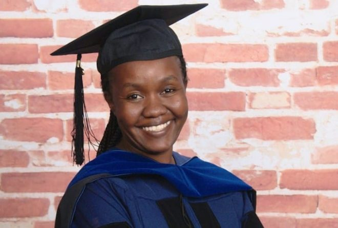 Meet Kenya's Fridah Mokaya; University of Connecticut's first black Female Nuclear Physics PhD graduate