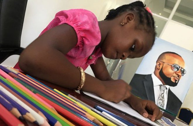 Meet Sheillah Charles, the nine-year-old Kenyan artist fulfilling her life's purpose