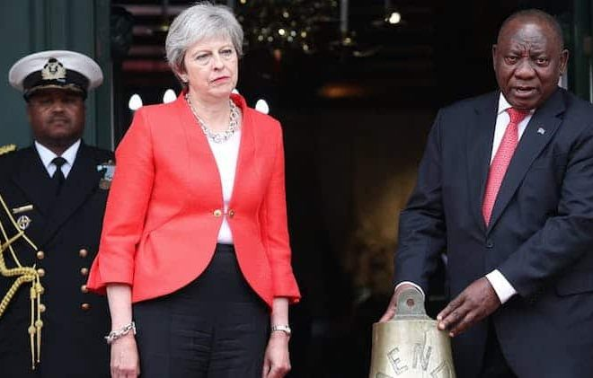 Theresa May in Africa: cynical post-Brexit development agenda smacks of desperation