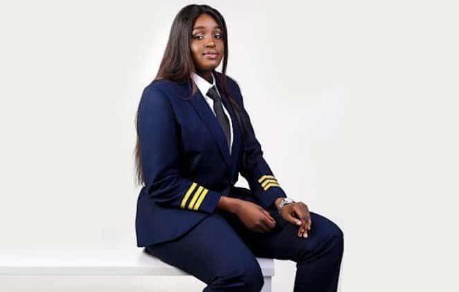 Meet 20 year-old Amel Ajongo South Sudan's Second female pilot
