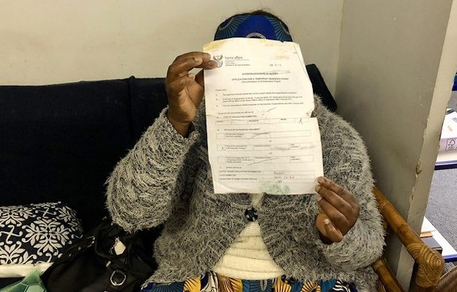 South Africa: Zimbabweans in limbo after giving Home Affairs asylum papers