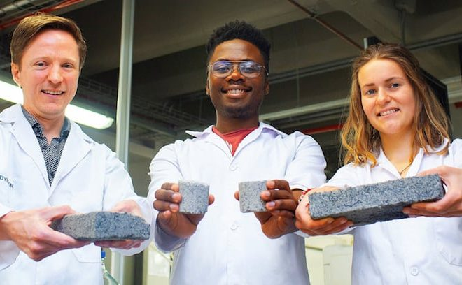 African innovation: UCT unveils world's first bio-bricks made from human urine