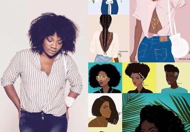"Meet Nicholle Kobi, the Congolese-French illustrator of all the ""Gorgeous Shades of Brown"""