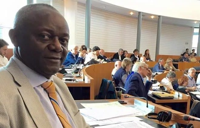 Pierre Kompany, a Congolese ex refugee elected Belgium's first Black Mayor