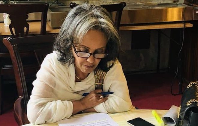 Sahle-Work Zewde is Ethiopia's first female President