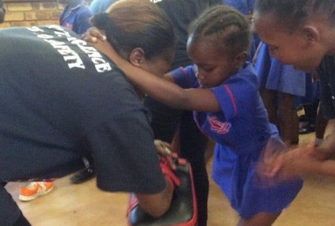South African girls learn self-defence as boys learn empathy to tackle sexual violence