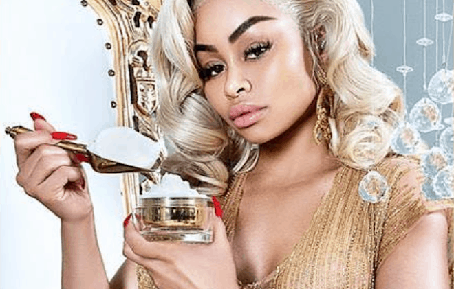 American celebrity Blac Chyna selling bleaching cream in Nigeria